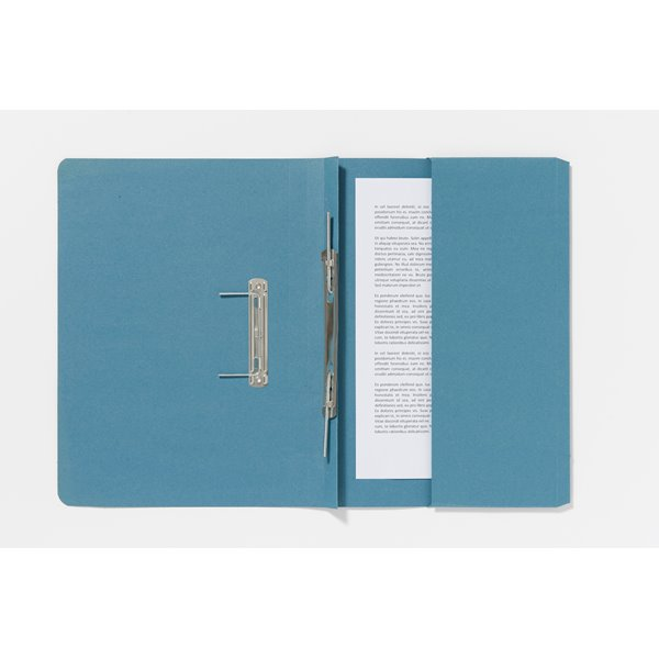 Guildhall Pocket Spiral File 285g 355x250mm Blue PK25