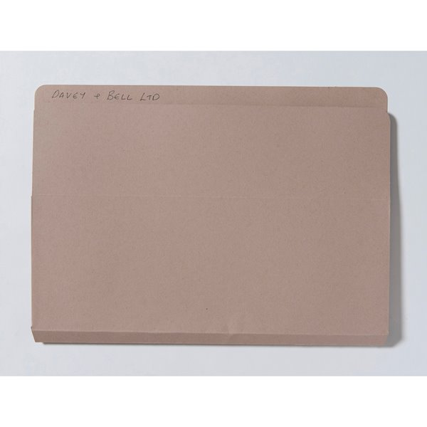 Guildhall Open Top Wallet 315g Foolscap Buff PK50