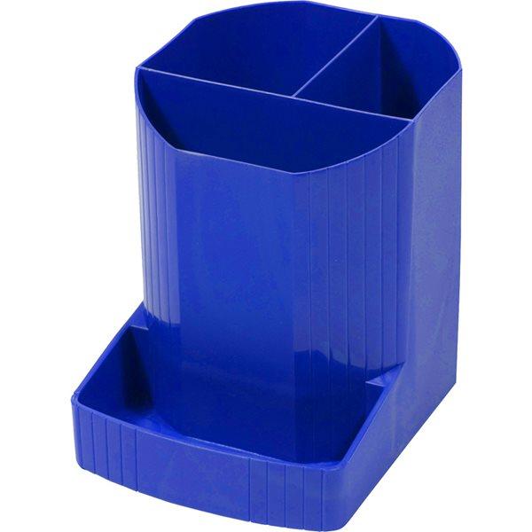 Desk Tidies Forever Mini-Octo Recycled Pen Pot Cobalt Blue 123x90x111mm