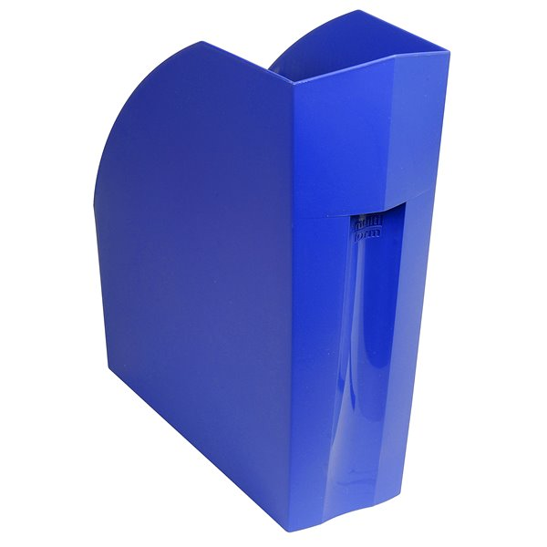Magazine Files Forever Magazine File Recycled Cobalt Blue 292x110x320mm