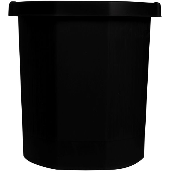 Forever Octo Eco Waste Paper Bin Black 312x312x324mm