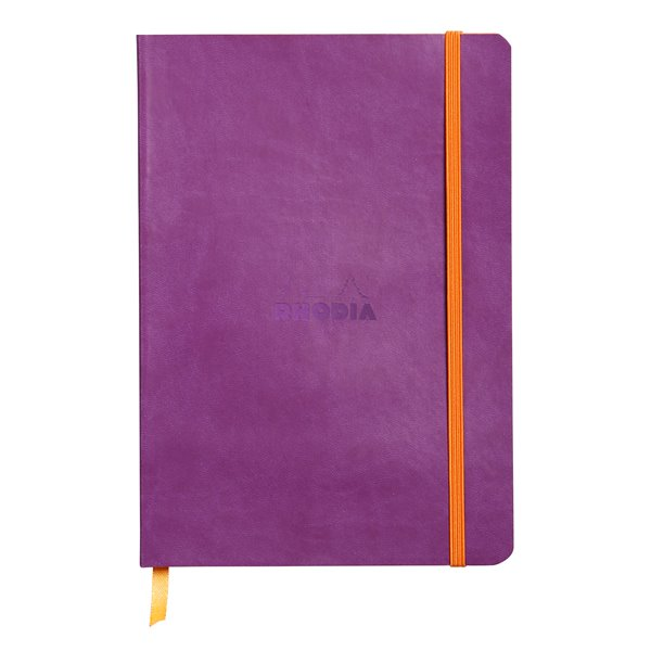 Rhodiarama Softcover Notebook Lined A5 Purple