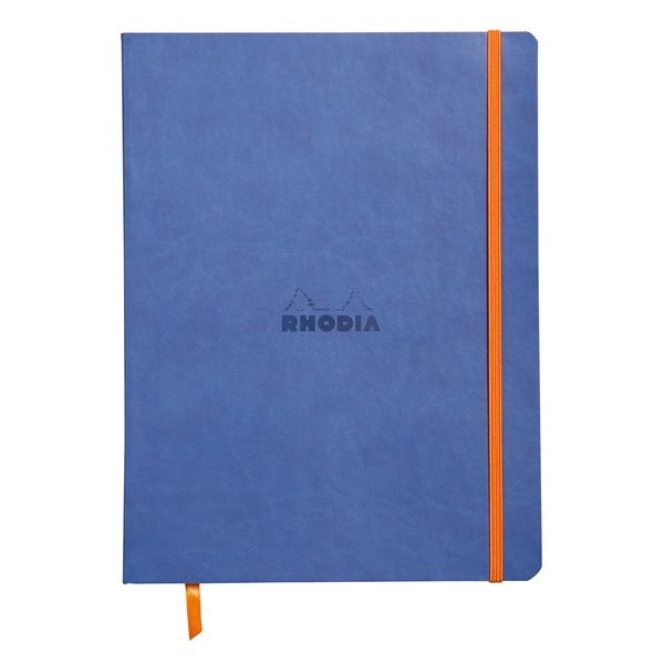 Rhodiarama Softcover Notebook Lined 190x250 Sapphire Blu