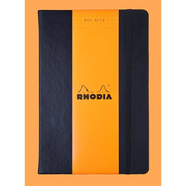 Pay Slip Pads Rhodia Webnotebook Black A5 Dot Grid Hardcover