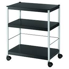 Filing Fast Paper Mobile 3 Shelf Trolley Medium