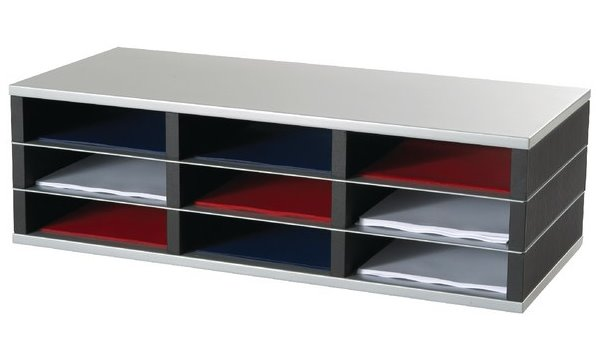 Fast Paper 9 Compartment A4 Mailsorter