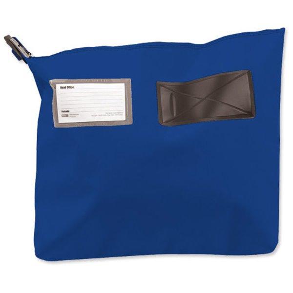 Bags Versapak Single Seam Mail Pouch Small Blue