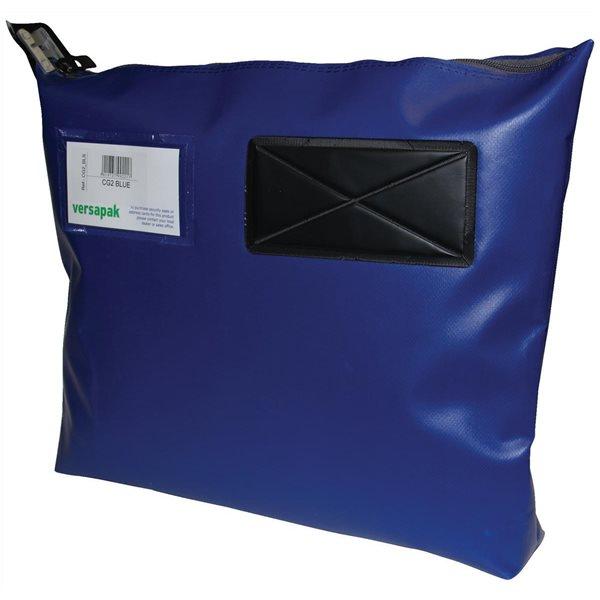 Bags Versapak Single Seam Mail Pouch Medium Blue