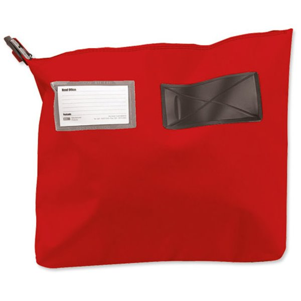 Bags Versapak Single Seam Mail Pouch Large Red