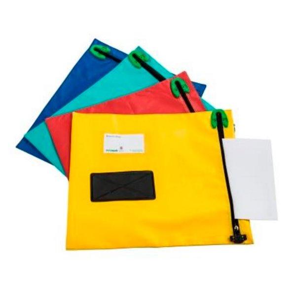 Bags Versapak Mail Lightweight Security Pouch W470 X H360mm Blue