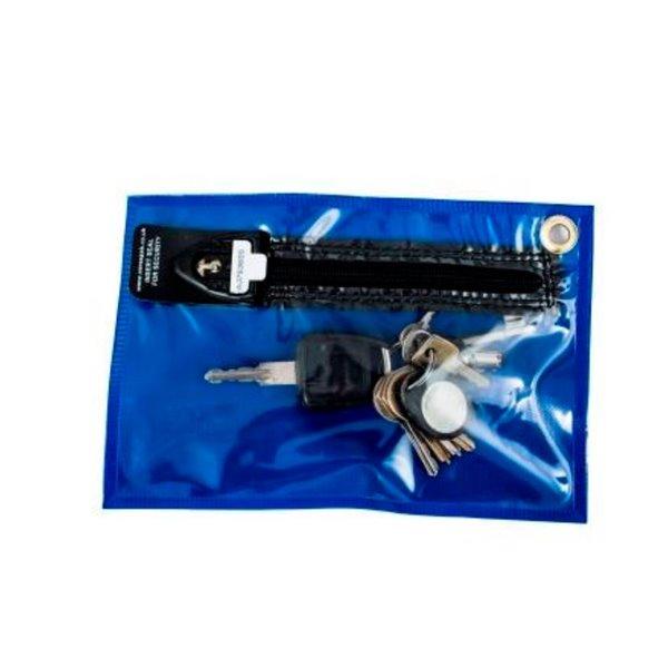 Bags Versapak Security Key Wallet 230 X 152mm Blue