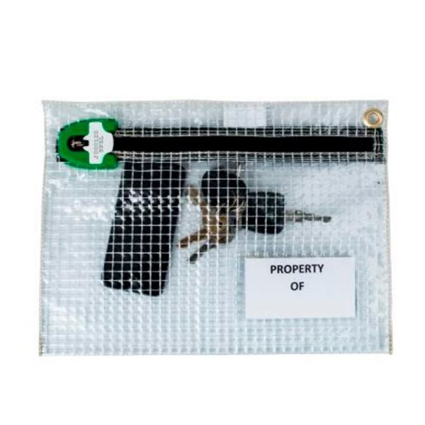 Bags Versapak Personal Effects Security Bag 320 X 230mm Clear