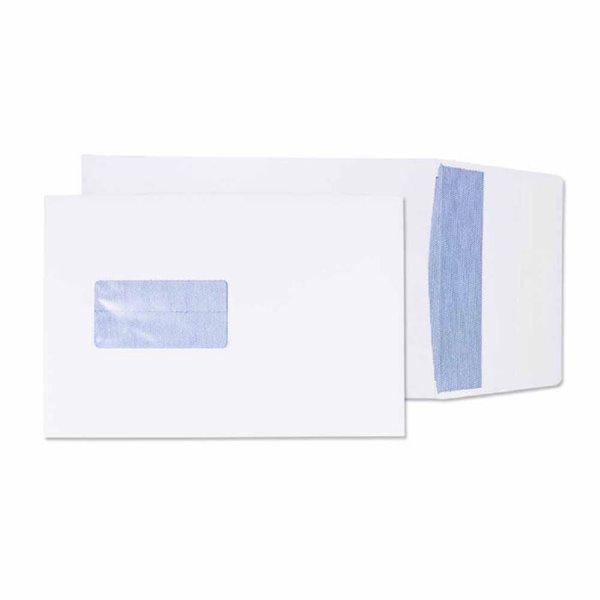 Blake Gusset Pocket Peel and Seal Window White C5 PK125