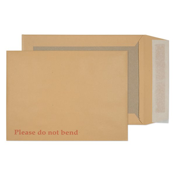 Board Back Pocket P&S Manilla 241x178mm 120gsm PK125