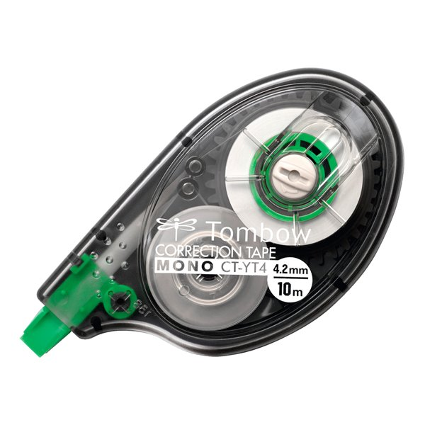 Tombow Correction tape MONO YT  4.2mm x 10m PK1