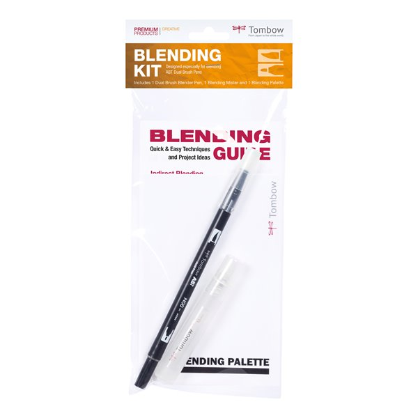 Colouring Pens Tombow Blending Kit For Blending Water Based Brush Pens PK4
