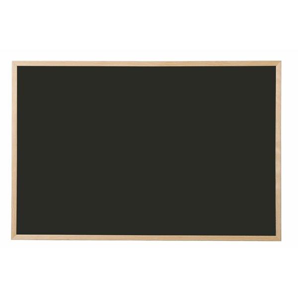 Chalkboards Bi-Office Black Board Pine Frame 900mm X 600mm