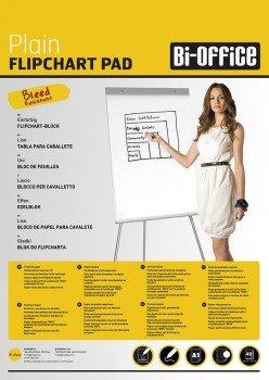 Bi-Office (A1) Flipchart Pad 60gsm  40 Perftd Sheets PK5