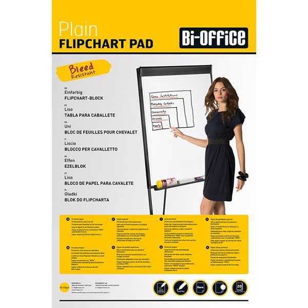 Value A1 Flipchart Pad 40 Sheets PK5