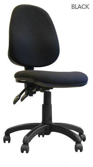Desk Chairs Java 200 High Back Operator Chair Black