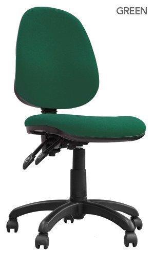 Desk Chairs Java 200 High Back Operator Chair Green