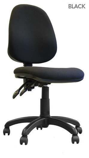 Java 200 High Back Operator Chair With Arms Black
