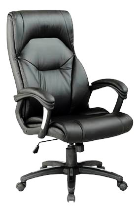 Wellington Pu Managers Chair Black