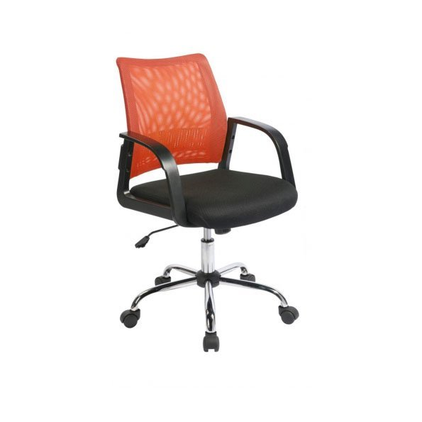 Executive Chairs Calypso Mesh Back Task Operator Armchair Orange
