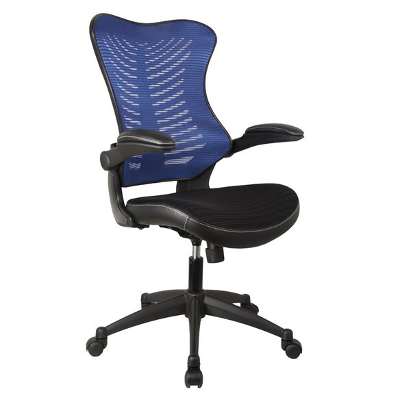 Desk Chairs Mercury 2 Executive Mesh Chair Blue