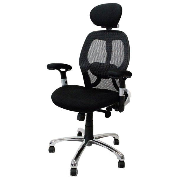 Desk Chairs Ergonomic 24 Hour High Back Mesh Chair Black