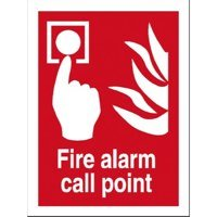 Fire Fire Alarm Call Point Sign