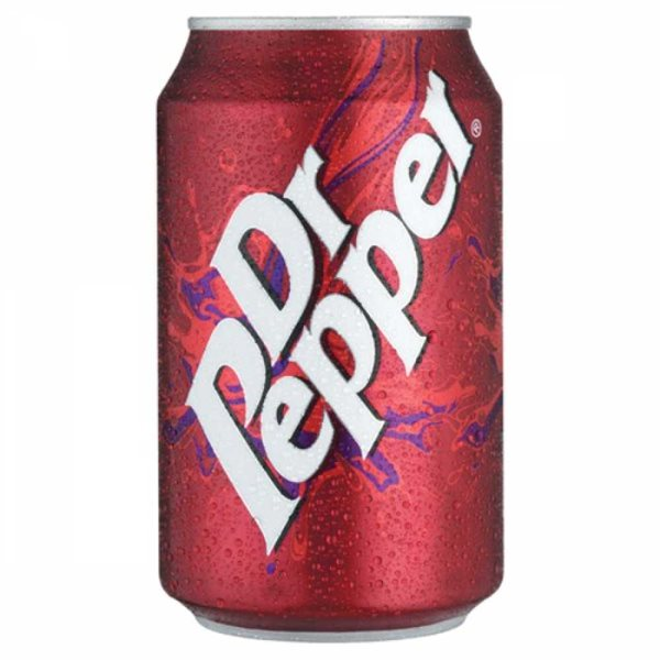 Cold Drinks Dr Pepper 330ml Cans (Pack 24)