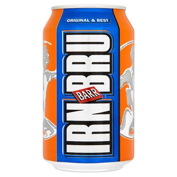 Cold Drinks Irn Bru 330ml Cans (Pack 24)