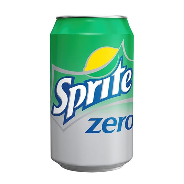 Cold Drinks Sprite Zero 330ml Cans (Pack 24)