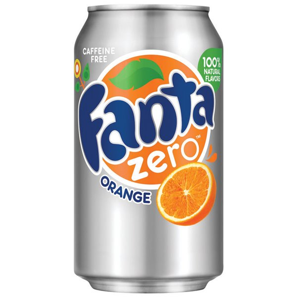 Cold Drinks Fanta Zero 330ml Cans (Pack 24)