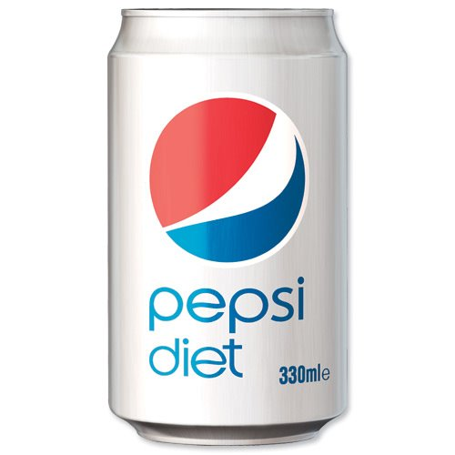 Cold Drinks Pepsi Diet 330ml Cans (Pack 24)