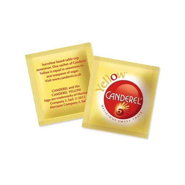 Sugar / Sweetener Yellow Sachet Sweetener (Pack 1000)
