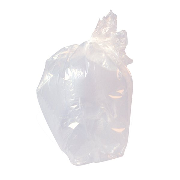 Bin Bags & Liners Value Clear Refuse Sack Light (Pack 500)