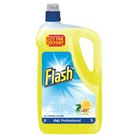 Cleaning Chemicals Flash All Purpose Lemon 5 Litre
