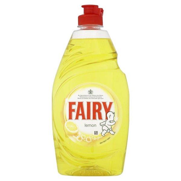 Cleaning Chemicals Fairy Liquid Lemon Zest 433ml PK2