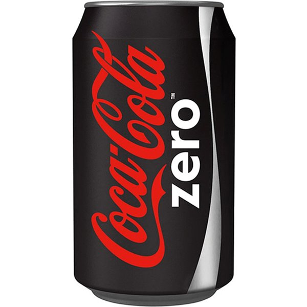 Cold Drinks Coca Cola Zero 330ml Cans (Pack 24)