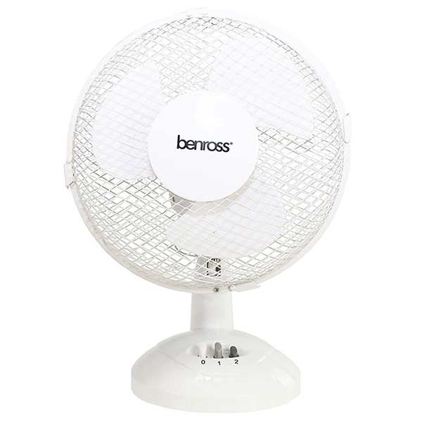 Value 9 Inch Tilting Oscillating Desk Fan 220-240V