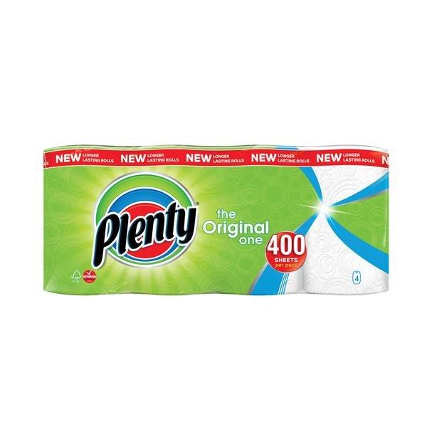 Plenty The Original One Kitchen Roll PK4