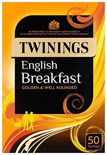 Tea Twinings English Breakfast Tea Envelopes PK50