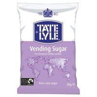 Sugar / Sweetener Tate & Lyle Vending Sugar 2Kg Bag For Dispensing Machines