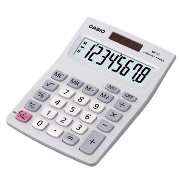 Casio MX-8B Desk Calculator Auto Power Off