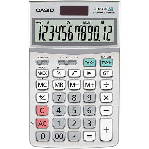 Casio JF-120ECO 12-Digit Desktop Calculator