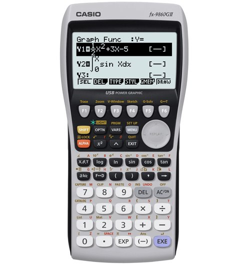 Casio FX-9860GII Advanced Graphic Calculator