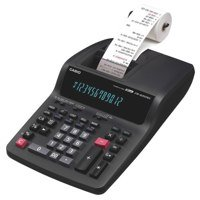 Printing Calculator Casio 12 Digit Printing Calculator Black