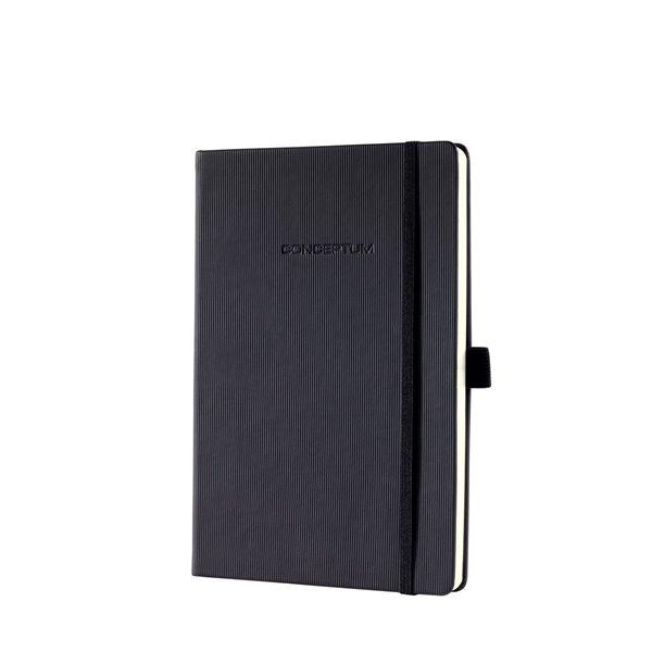 Sigel CONCEPTUM Notebook Hardcover Lined 148x213x20mm Black
